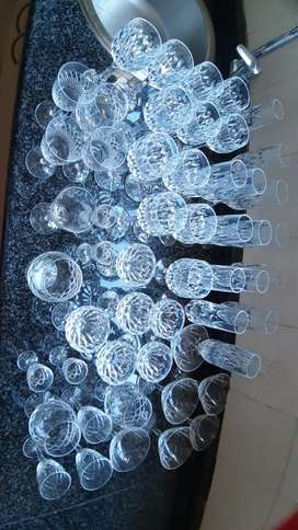 Crystal Glasses - Assorted