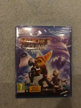 Rachet and Clank Ps4 game