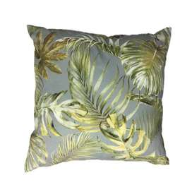 Jungle Grey Scatter Cushion Cover 60cm x 60cm