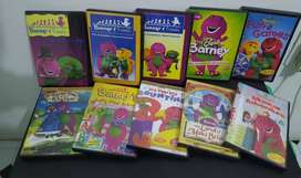 Barney dvds for sale