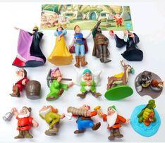 Белоснежка и 7 гномов 15шт Голландия, Игрушки из Киндеров (Киндеры)
