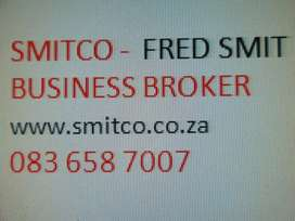 BUSINESS CONSULTANT  SMITCO FRED SMIT TO BUY OR SELL