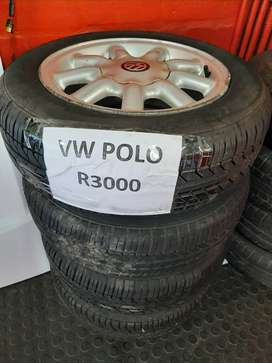 Used Mag Rims and Tyres