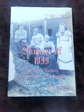Summer of 1899 - first edition / The Siege of Kimberly