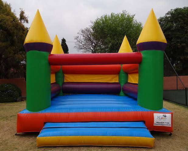 Jumping Castle and Popcorn Machine for Hire 0