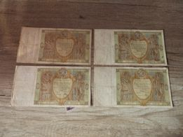 Banknot Banknoty 50 zł 1929 rok Polska