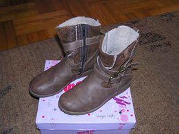 Buty dziewczęce kozaczki 36 STAN DB Wysyłka gratis