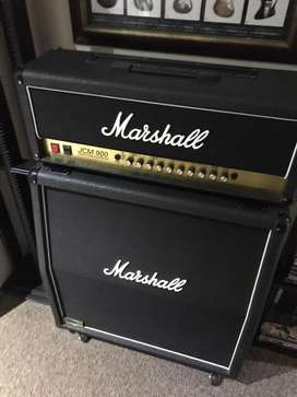 Marshall JCM900 Amp and 1960a Lead Cab