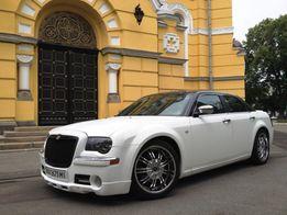 Авто на свадьбу, свадебная машина Крайслер, Аренда прокат Авто свадьба