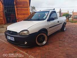 2001 Opel Corsa LDV Utility 160i Sport 5 speed manual.