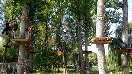 Мотузковый парк, веревочный парк, лазалка, тарзанка, тайт парк.