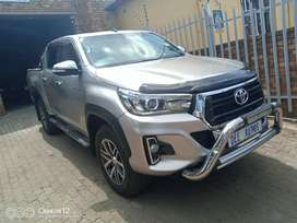 2016 Toyota Hilux 2.8 GD6 Double Cab 4x4 Raider Automatic for sale.