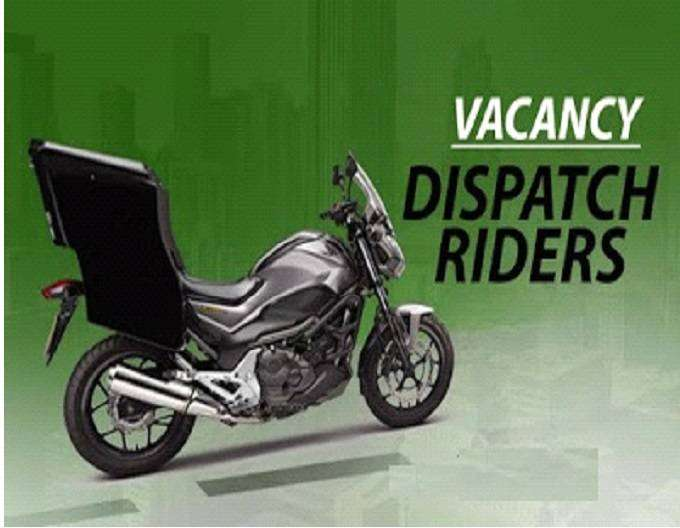 Dispatch Riders Urgently Needed.. 0