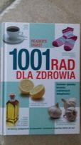 Książka 1001 rad dla zdrowia