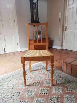SOLID OAK HAND MADE DINING CHAIRS