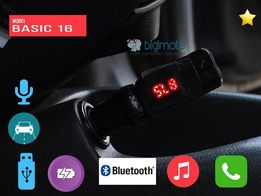 Bluetooth Basic 16|FM transmitter,FM трансмиттер,FM модулятор,ФМ,блюту