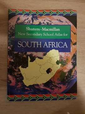 Shuters - Macmillan _ New Secondary School Atlas for South Africa
