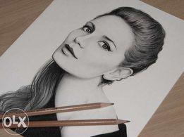 Портрет карандашом (Графика) на заказ
