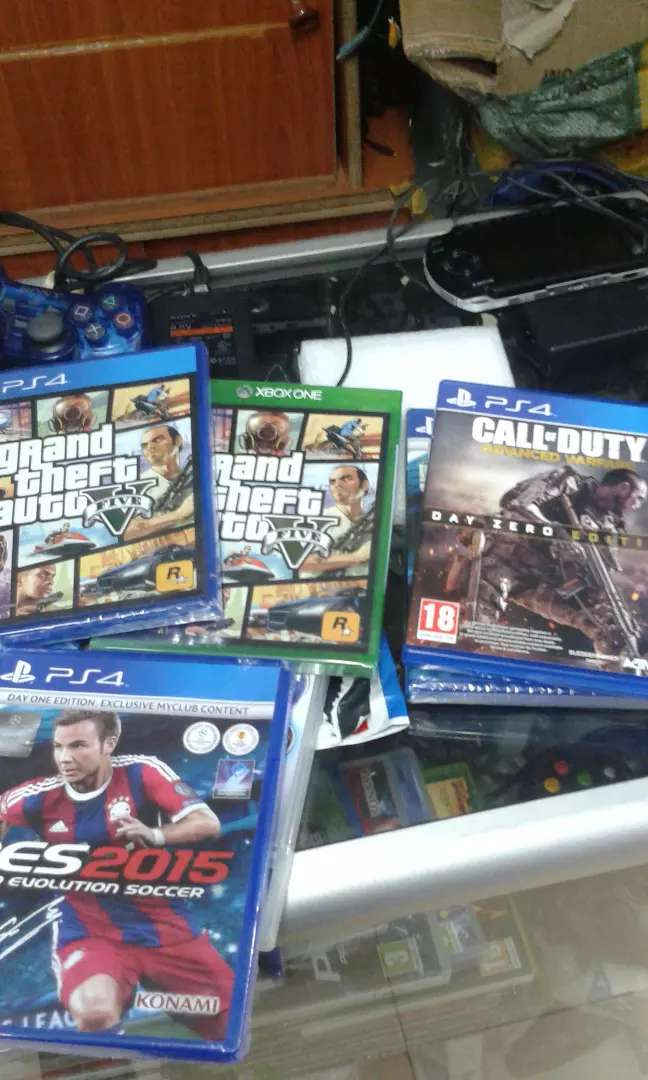 Brand new Ps4 and Xbox one original games CDS 0