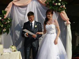 Элегантное, белоснежное свадебное платье ТМ Kookla