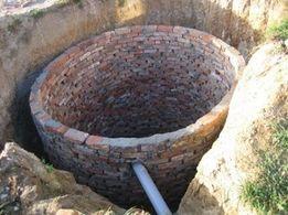 Выгребные ямы копка траншеи.Демонтаж.Демонтажные земляные работы рытье