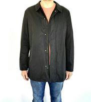 Pierre Cardin Paris, płaszcz biznesowy czarny.