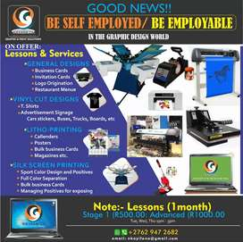 Graphic Design Lessons and Services
