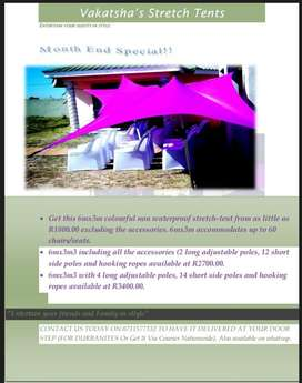Stretch Tents month End Speciall!!!