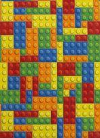 Wykładzina dziecięca KLOCKI pastele dywan kolory różne rozmiary