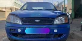 Ford fiesta 1.4 stripping for spares and body accessories.