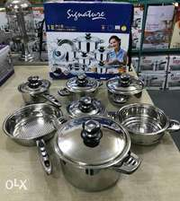 Signature cooking pots 0