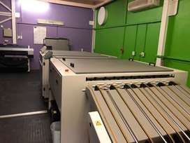 Computer to plate macjine Fujifilm Luxel V8 CTP