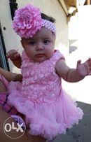 Платье боди нарядное детская одежда (5м-1.5л)