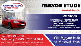 Mazda Etude Parts and Spares For Sale.