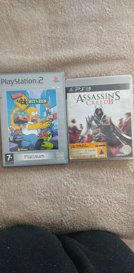 A ps2 and ps3 game for sale