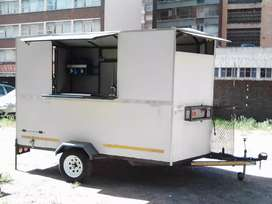 3.4m  Fast food trailer for sale (price negotiable)