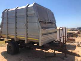 Aluminium Closed tip trailer