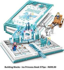Building Blocks - Ice Princess Book 575pc