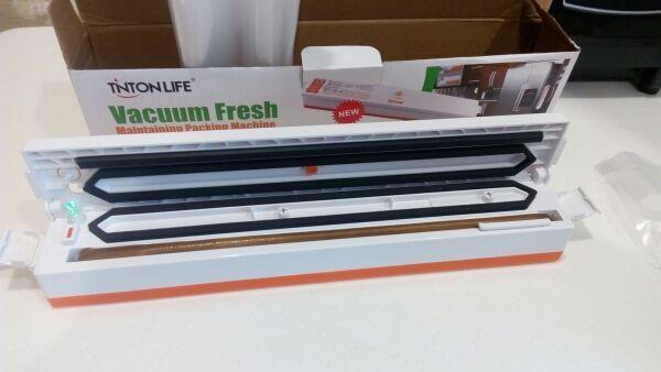 Бытовой вакуумный упаковщик + пакеты в подарок! Вакууматор