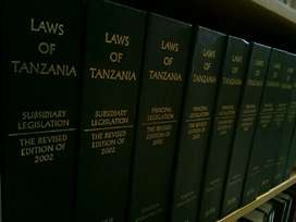 Laws Of Tanzania: Revised Edition Of 2002