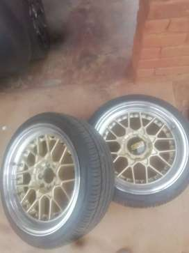 BBS RIMS with 205/R40Z 17 Tyres For Sale