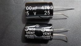 Конденсатор электролитический 4700мкф 25в