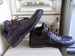 Демисезонные кожаные ботинки Reebok Boks, оригинал, 44р., 28,5см.