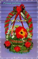 Подарки Сувениры любимым к 8 марта Душистая корзинка