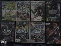Image of 8×Second hand pc games but still in good condition