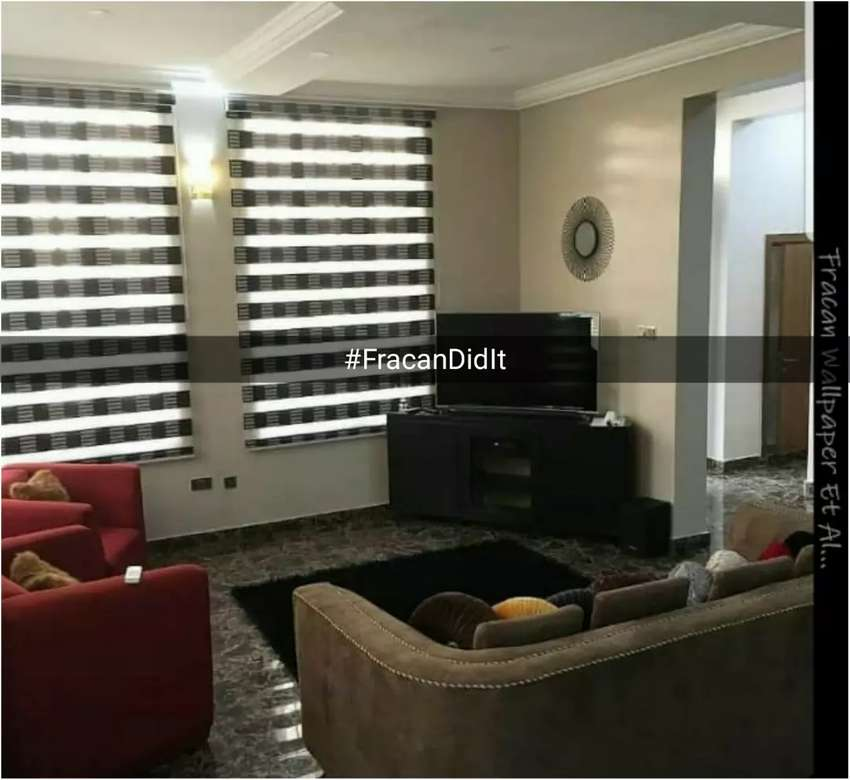Night n Day window blinds. Installation is free 0