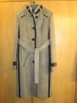 Пальто женское серое демисезонное