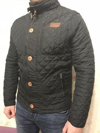 Мужская Стеганая демисезонная куртка размер М Херсон - изображение 2