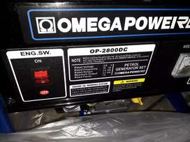 2800DC,2.2kva OMEGA generator Pull Start new in a box for R3500
