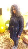 Зимняя теплая куртка пальто 50 р.